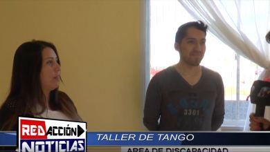 Photo of ÁREA DE DISCAPACIDAD – TALLER DE TANGO