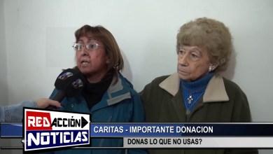 Photo of Redacción Noticias |  LAS HERAS – SANTA CRUZ – CARITAS: IMPORTANTE DONACION