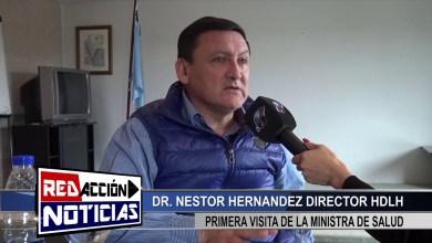 Photo of Redacción Noticias    LAS HERAS – SANTA CRUZ VISITA MINISTRA DE SALUD – DIRECTOR NESTOR HERNANDEZ