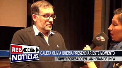 Photo of Redacción Noticias    UNPA – PRIMER EGRESADO DE TECNICATURA EN PETROLEO – LAS HERAS SANTA CRUZ
