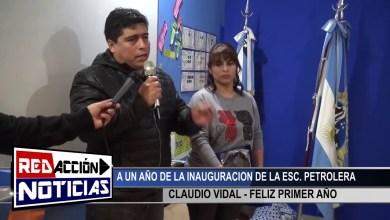 Photo of Redacción Noticias |  LAS HERAS – SANTA CRUZ – CLAUDIO VIDAL – A UN AÑO DE LA INAUGURACION DE LA ESCUELITA PETROLERA