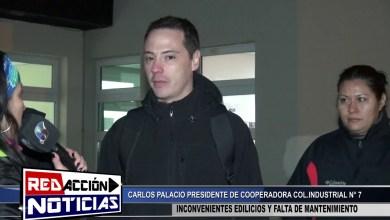 Photo of Redacción Noticias |  PRESIDENTE DE PADRES INDUSTRIAL N°7 – CARLOS PALACIOS – LAS HERAS SANTA CRUZ