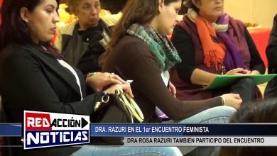 Photo of Redacción Noticias |  ROSA RAZURI – 1ER ENCUENTRO FEMINISTA – LAS HERAS SANTA CRUZ