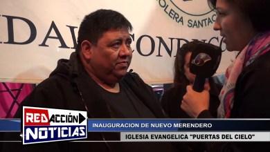 Photo of Redacción Noticias |  PASTOR DE LA IGLESIA – INAUGURACION DE MERENDERO – LAS HERAS SANTA CRUZ
