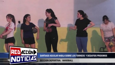 Photo of Redacción Noticias |  SANTIAGO AGUILAR HABLA SOBRE LA ESCUELA DE HANDBALL – LAS HERAS SANTA CRUZ