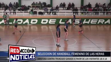 Photo of Redacción Noticias |  HANDBALL FEMENINO – LAS HERAS SANTA CRUZ