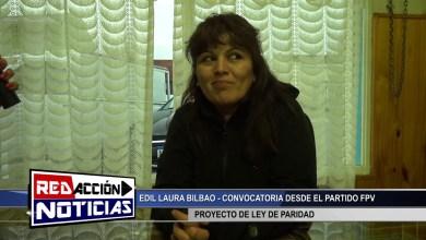 Photo of Redacción Noticias |  EDIL BILBAO LEY DE PARIDAD – LAS HERAS SANTA CRUZ