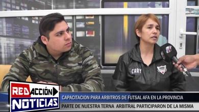 Photo of Redacción Noticias |  CAPACITACION DE ARBITROS FUTSAL AFA – LAS HERAS SANTA CRUZ
