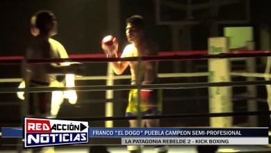 Photo of Redacción Noticias |  FRANCO PUEBLA (Campeón) VS ADRIAN ZALAZAR  – LA PATAGONIA REBELDE 2 – LAS HERAS SANTA CRUZ