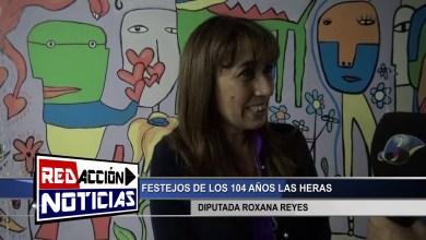 Photo of Redacción Noticias |  104 AÑOS LAS HERAS – DIPUTADA ROXANA REYES – LAS HERAS SANTA CRUZ