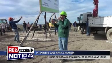 Photo of Redacción Noticias |  NUEVO ACCESO A LAS HERAS – INICIO DE OBRA DE GARITA – LAS HERAS SANTA CRUZ