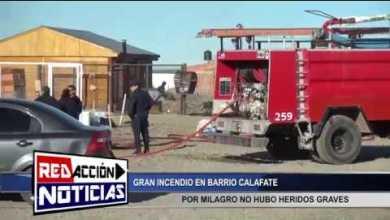 Photo of Redacción Noticias |  GRAN INCENDIO EN BARRIO CALAFATE – LAS HERAS SANTA CRUZ