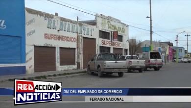Photo of Redacción Noticias |  INFORME – DIA DEL EMPLEADO DE COMERCIO – LAS HERAS SANTA CRUZ