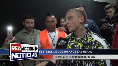 Photo of Redacción Noticias |  EL POLACO DESPUES DEL SHOW – LAS HERAS SANTA CRUZ