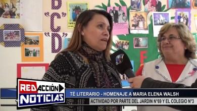 Photo of Redacción Noticias    TE LITERARIO HOMENAJE A MARIA ELENA WALSH – LAS HERAS SANTA CRUZ