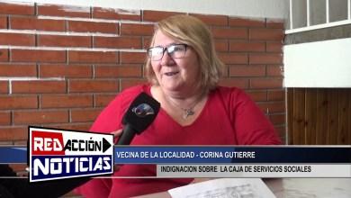 Photo of Redacción Noticias |  VECINA CORINA REALIZA DESCARGO SOBRE LA CAJA DE SERVICIOS SOCIALES