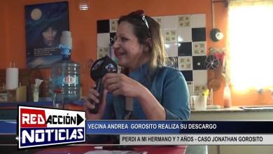 Photo of Redacción Noticias |  DESCARGO DE ANDREA GOROSITO – CASO JONATHAN GOROSITO – LAS HERAS SANTA CRUZ 2/2