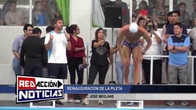 Photo of Redacción Noticias |  INAUGURACION DE EL NATATORIO MUNICIPAL – JOSE MEOLANS – LAS HERAS SANTA CRUZ