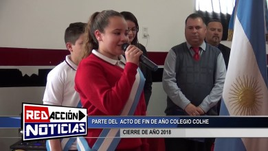 Photo of Redacción Noticias |  CIERRE DE AÑO COLHE – LAS HERAS SANTA CRUZ