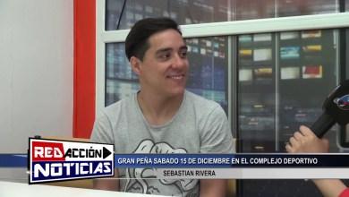 Photo of Redacción Noticias    LAS HERAS – SANTA CRUZ -GRAN PEÑA SABADO 15 DE DICIEMBRE 2018 – SEBASTIAN RIVERA – LAS HERAS