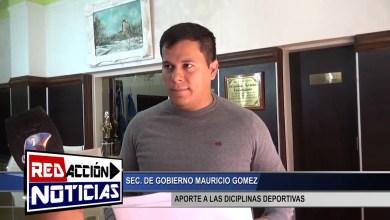Photo of Redacción Noticias |  APORTES A DICIPLINAS DEPORTIVAS Y CIERRE DE AÑO – MAURICIO GOMEZ – LAS HERAS SANTA CRUZ