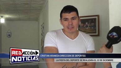 Photo of Redacción Noticias |  LA FIESTA DE DEPORTE SE POSTERGO PARA EL 22 DE DIC. – ARANEDA CRISTIAN – LAS HERAS SANTA CRUZ