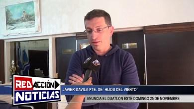 Photo of Redacción Noticias |  JAVIER DAVILA – ANUNCIA 1ER DUATLON EN LA REGION – LAS HERAS SANTA CRUZ