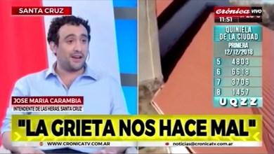 Photo of Redacción Noticias    CARAMBIA J. EN UN CANAL NACIONAL –  CRONICA TV – LAS HERAS SANTA CRUZ