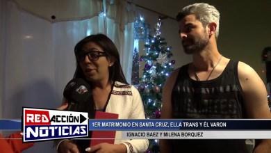 Photo of Redacción Noticias |  1ER MATRIMONIO EN SANTA CRUZ, ELLA TRANSEXUAL Y EL VARON – LAS HERAS SANTA CRUZ