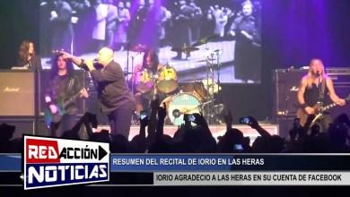 Photo of Redacción Noticias |  IORIO EN LAS HERAS RECITAL – LAS HERAS SANTA CRUZ