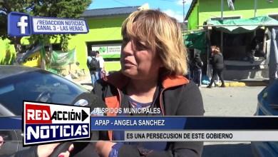 Photo of Redacción Noticias    ANGELA SANCHEZ – APAP – SITUACION DE RECLAMO