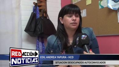 Photo of Redacción Noticias    EDIL ANDREA YAPURA – SITUACION DESOCUPADOS AUTOCONVOCADOS