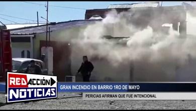 Photo of Redacción Noticias |  INCENDIO EN BARRIO 1RO DE MAYO – LAS HERAS SANTA CRUZ