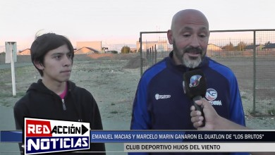 Photo of Redacción Noticias |  EMANUEL MACIAS Y MARCELO MARIN GANARON EL DUATLON DE LOS BRUTOS EN SAN JULIAN – LAS HERAS SANTA CRUZ