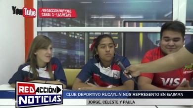 Photo of Redacción Noticias |  CLUB DEPORTIVO RUCAYLIN FEMENINO NOS REPRESENTO EN GAIMAN – LAS HERAS SANTA CRUZ