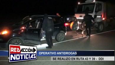 Photo of Redacción Noticias    OPERATIVO ANTIDROGAS – LAS HERAS SANTA CRUZ
