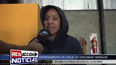 Photo of Redacción Noticias |  ENTREVISTA A LESLIE «LA EXPLOSIVA» MORALES – LAS HERAS SANTA CRUZ
