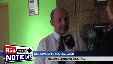Photo of Redacción Noticias |  DDI RESUMEN DE HECHOS DELICTIVOS – LAS HERAS SANTA CRUZ