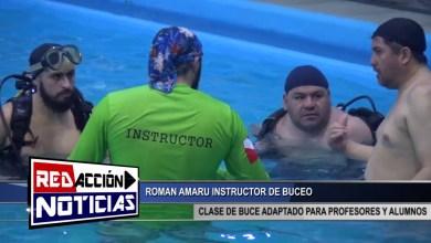 Photo of Redacción Noticias |  CLASE DE BUCEO EN NATATORIO MUNICIPAL LH – LAS HERAS SANTA CRUZ