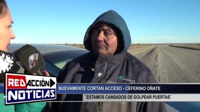 Photo of Redacción Noticias |  CORTE NUEVAMENTE – CEFERINO OÑATE – LAS HERAS SANTA CRUZ