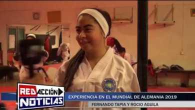 Photo of Redacción Noticias |  TAEKWONDO: FERNANDO TAPIA Y ROCIO AGUILA Y SU EXPERIENCIA EN ALEMANIA 2019 – LAS HERAS SANTA CRUZ