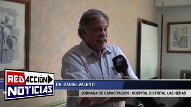 Photo of Redacción Noticias    DR VALENTI   JORNADA DE CAPACITACION