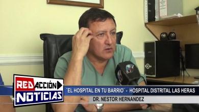 Photo of Redacción Noticias |  EL HOSPITAL EN TU BARRIO DR HERNANDEZ – LAS HERAS SANTA CRUZ