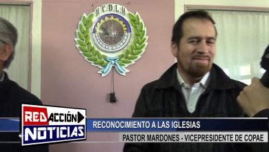 Photo of Redacción Noticias    RECONOCIMIENTO A IGLESIA EVANGELICA – LAS HERAS SANTA CRUZ