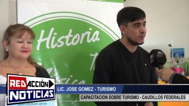 Photo of Redacción Noticias |  LICENCIADO GOMEZ – CAPACITACION EN TURISMO – LAS HERAS SANTA CRUZ