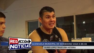 Photo of Redacción Noticias |  EL KICKBOXISTA ULISES LOPEZ OBTUVO UNA IMPORTANTE VICTORIA EN BS AS – LAS HERAS SANTA CRUZ