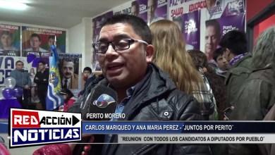 Photo of Redacción Noticias |  CARLOS MARIQUEO Y MARIA ANA PEREZ – LAS HERAS SANTA CRUZ