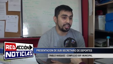 Photo of Redacción Noticias |  NUEVO JEFE SUB SECRETARIO DE DEP. – LAS HERAS SANTA CRUZ