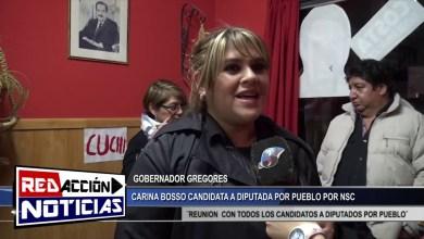 Photo of Redacción Noticias |  CARINA BOSSO GOB. GREGORES CAD. A DIP  POR PUEBLO – LAS HERAS SANTA CRUZ