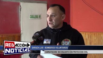 Photo of Redacción Noticias |  BOMBEROS VOLUNTARIOS – CAPACITACION EN CONJUNTO CON PROTECCION CIVIL – LAS HERAS SANTA CRUZ